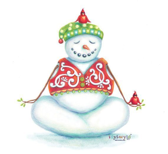 Mindful Snowman