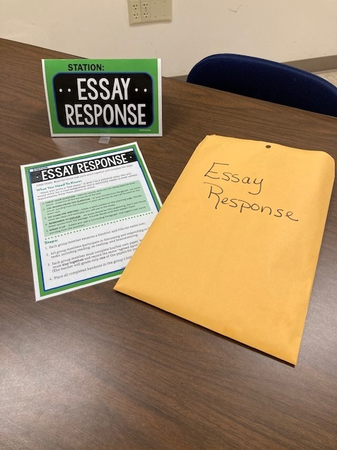 Multi-paragraph essay responses are an integral part of the state ELA assessments.