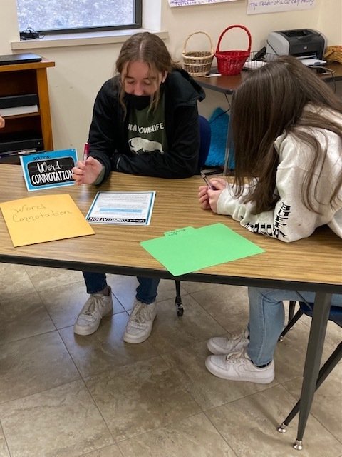 Students work together to solidify their understanding of core reading/language arts skills to prepare for the end-of- year state and district assessments.